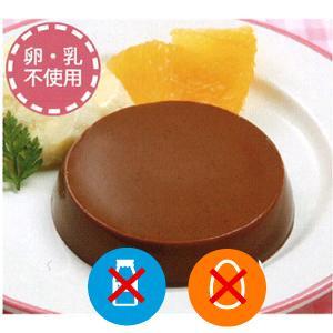 アレルギー対応 豆乳で作ったチョコプリン(10個入り) 乳、卵不使用 プリン チョコ チョコプリン|giftconcierge01
