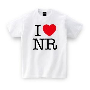ご当地Tシャツ I LOVE NR アイラブ奈良 ホワイト おもしろtシャツ メンズ レディース ギ...