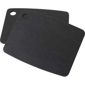エピキュリアン カッティングボード2枚セット ブラック  0723-059904  ●【ギフト対応不...