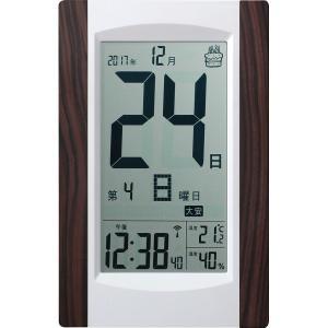 デジタル日めくり電波時計 KW9256の関連商品2
