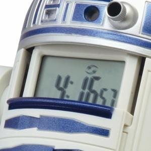 R2‐D2 アクション目覚まし時計 ブルー 8...の詳細画像1