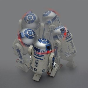 R2‐D2 アクション目覚まし時計 ブルー 8...の詳細画像2