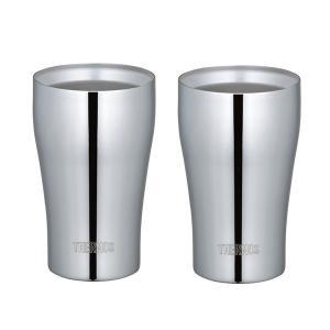 サーモス 真空断熱ペアタンブラー ステンレスミラー JCY-320GP1(SM)●