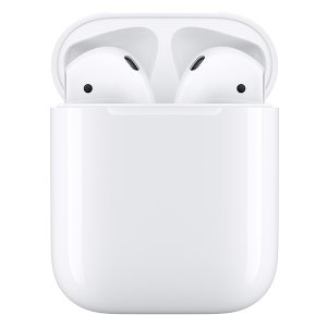 Apple AirPods アップル 第2世代 エアーポッズ エアポッド MV7N2J/A with Charging Case 純正 ワイヤレスイヤホン マイク付き Bluetooth 【ギフト対応不可】