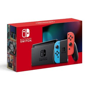 Nintendo Switch 本体 ニンテンドースイッチ Joy-Con(L) ネオンブルー(R)...