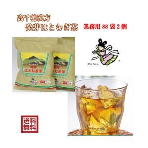 発芽はとむぎ茶 2袋セット お得パック とってもおいしい健康茶をお手軽に 無着色無添加の発芽はと麦茶はお子様をはじめご家族みんなで安心してお|giftmiwa