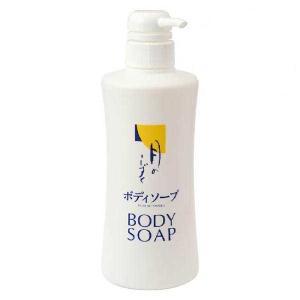 ゆの里温泉 月のしずく ボディソープ 500mL 6本セットしっとりと洗い上げる肌にもやさしい自然派スキンケアボディソープです。|giftmiwa