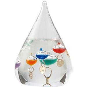 ガラスフロート温度計S<333-203>|giftnomori