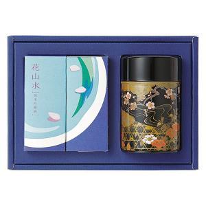 お茶 お酒 日本酒 純米吟醸酒 静岡茶 深蒸し煎茶 ギフトセット 想(お茶と日本酒)|giftnomori