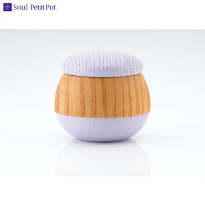 Soul PetitPot ソウル プチポット ミニ骨壷 手元供養 骨壷 ころん フジ|giftnomori