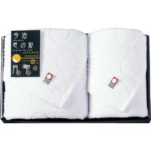 しまなみ匠の彩 今治製フェイスタオル&ウォッシュタオル  MPI-1551 月雫(B5061-020)|giftnomura