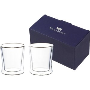ウェルナーマイスター 耐熱二重ガラス・フリーグラスペアセット  800-541 (B5095-015)|giftnomura