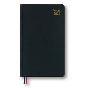 ダイゴー 2022年1月始まり E1004  月曜日始まり アポイントダイアリー 手帳ブラック 見開き2週間|giftnomura