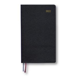 ダイゴー 2021年9月始まり Appoint 1週間バーチカル 手帳サイズ ブラック E1755|giftnomura