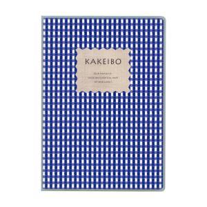 ダイゴー 家計簿付手帳  ギンガムチェック家計簿 A5 ブルー J1236|giftnomura
