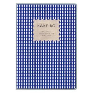 ダイゴー 家計簿付手帳  ギンガムチェック家計簿 B5 ブルー J1238 giftnomura