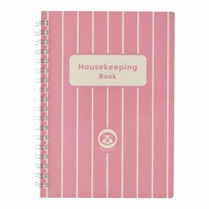 ダイゴー なまけものさんの家計簿 B6 ピンク J2110|giftnomura