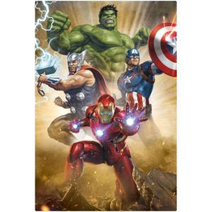 ●ダイゴー S3774  MARVEL 3Dポストカード-001 アベンジャーズ Avengers【SALE】|giftnomura