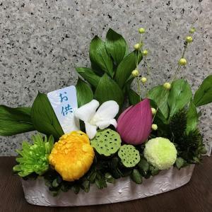 プリザーブドフラワー お供え仏花(横型) T-003|giftnomura