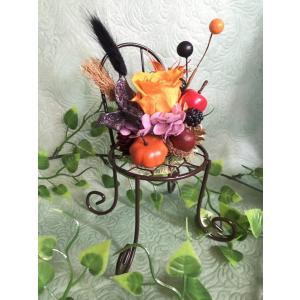 ハロウィン 椅子(ブラウン) T-041|giftnomura