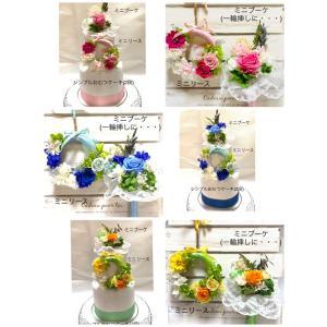 出産祝い お花のおむつケーキ(2段)   T-061 giftnomura