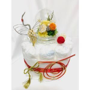 【敬老の日・お誕生日祝い】大人のダイパーケーキ   T-062 giftnomura