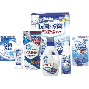 内容 * P&Gアリエールジェル(910g)・P&Gアリエールジェル詰替用(720g)・台所用除菌ジ...
