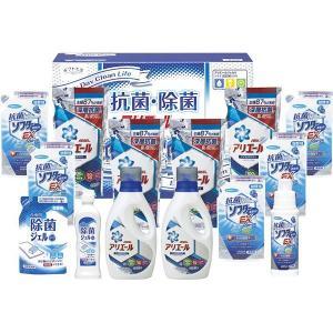 内容 * 抗菌ソフターEX詰替用(350g)×5、P&Gアリエールジェル詰替用(720g)×4、P&...