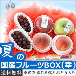 果物 ギフト 詰め合わせ 果物詰め合わせ 新緑の国産フルーツBOX 幸 さくらんぼ 誕生日 プレゼント 国産 詰め合わせ 盛り合わせ 送料無料
