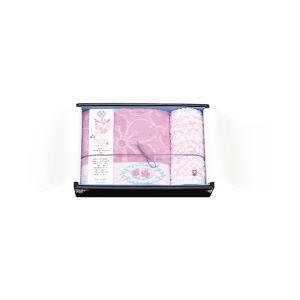 今治タオル サクラフロムジャパン ごだいさくら タオルセット ピンク SN4019 バスタオル・フェイスタオル×各1|giftshop