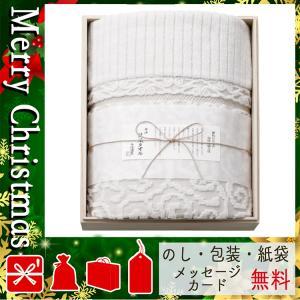 クリスマス プレゼント タオル ギフト 2020 タオル 今治謹製 来島海峡波文様 紋織タオルケット(木箱入) ベージュ|giftstyle