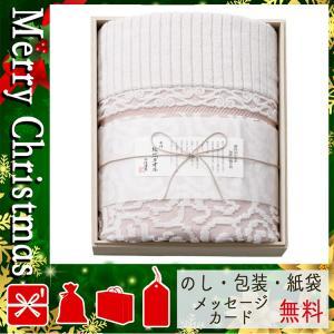 クリスマス プレゼント タオル ギフト 2020 タオル 今治謹製 来島海峡波文様 紋織タオルケット(木箱入) ピンク|giftstyle