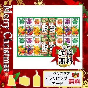 お盆 お供え お返し 初盆 新盆 2021 野菜ジュース 御供 送る 野菜ジュース カゴメ 野菜飲料バラエティギフト(16本)|giftstyle