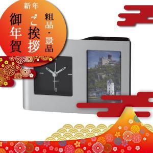 時計・アラーム・フォトフレーム・ペンスタンド機能付き。  商品名/カークデスクスタンド 内容/単3乾...