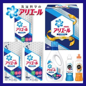 快気祝い 洗剤 ギフト 内祝い 洗剤 人気ギフト P&G アリエールイオンパワージェルセット PGIG-30|giftstyle