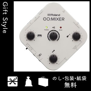 オーディオインターフェイス ローランド ROLAND スマートフォン用オーディオインターフェイス GO:MIXER GOMIXER 音楽 楽器 機器|giftstyle