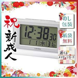 七五三 お祝い お返し 内祝 2019 置き時計デジタル電波時計|giftstyle