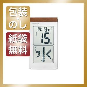 内祝い 快気祝い お返し 出産祝い 結婚祝い 置き時計 メガ曜日日めくり電波時計|giftstyle