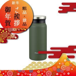 体育祭 運動会 賞品 景品 粗品 参加賞 水筒 マグ ピーコック魔法瓶 ステンレスマグボトル 400ml カーキ|giftstyle