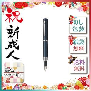 金属ボディでは初めての完全気密のスリップシール機構を搭載したしなやかなペン先の本格万年筆。ネジキャッ...