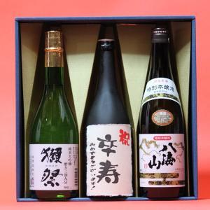 卒寿祝い〔そつじゅ〕(90歳)おめでとうございます!日本酒 本醸造+獺祭(だっさい)39+八海山本醸造720ml 3本ギフト 飲み比べセット|gifttd