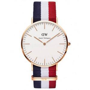 DANIEL WELLINGTON ダニエル・ウェリントン 0103dw ANALOG Cambridge Classic MENS クラシック 腕時計 メンズ アナログ|gifttime