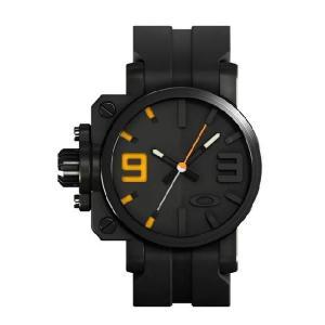 OAKLEY オークリー 10-040 Gearbox(ギアボックス) ステルスブラック×イエロー 腕時計 メンズ|gifttime