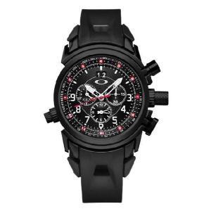 OAKLEY オークリー 10-061 12 Guage(トゥエルブゲイジ) Mens  クロノグラフ 腕時計 メンズ|gifttime