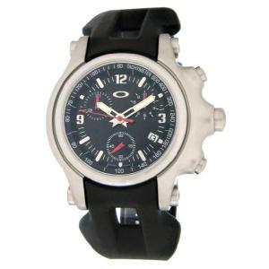 OAKLEY オークリー 10-215 Holeshot (ホールショット) ブラック ブラックラバー 腕時計 メンズ|gifttime