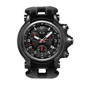 OAKLEY オークリー 10-228 Holeshot (ホールショット) オールブラック ブラックラバー 腕時計 メンズ|gifttime