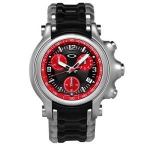 OAKLEY オークリー 10-247 Holeshot (ホールショット) レッド×ブラック 腕時計 メンズ|gifttime