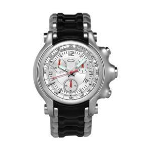 【17%オフ!】OAKLEY オークリー 10-248 Men's Holeshot  ホールショット クロノグラフ 腕時計 メンズ|gifttime