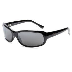 Maui Jim[マウイジム] 189-02 Lagoon PolarizedPlus2 *偏光レンズ Gloss Black / Neutral Grey レディース メンズ用 サングラス ★日本製|gifttime