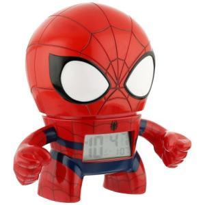 ポイント5倍★マーベル スパイダーマン クロック 目覚まし時計 Marvel SPIDER MAN 2020039 BULBBOTZ バルブボッツ 置き時計 gifttime